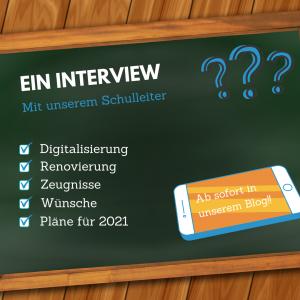 Read more about the article Ein Interview mit unserem Schulleiter