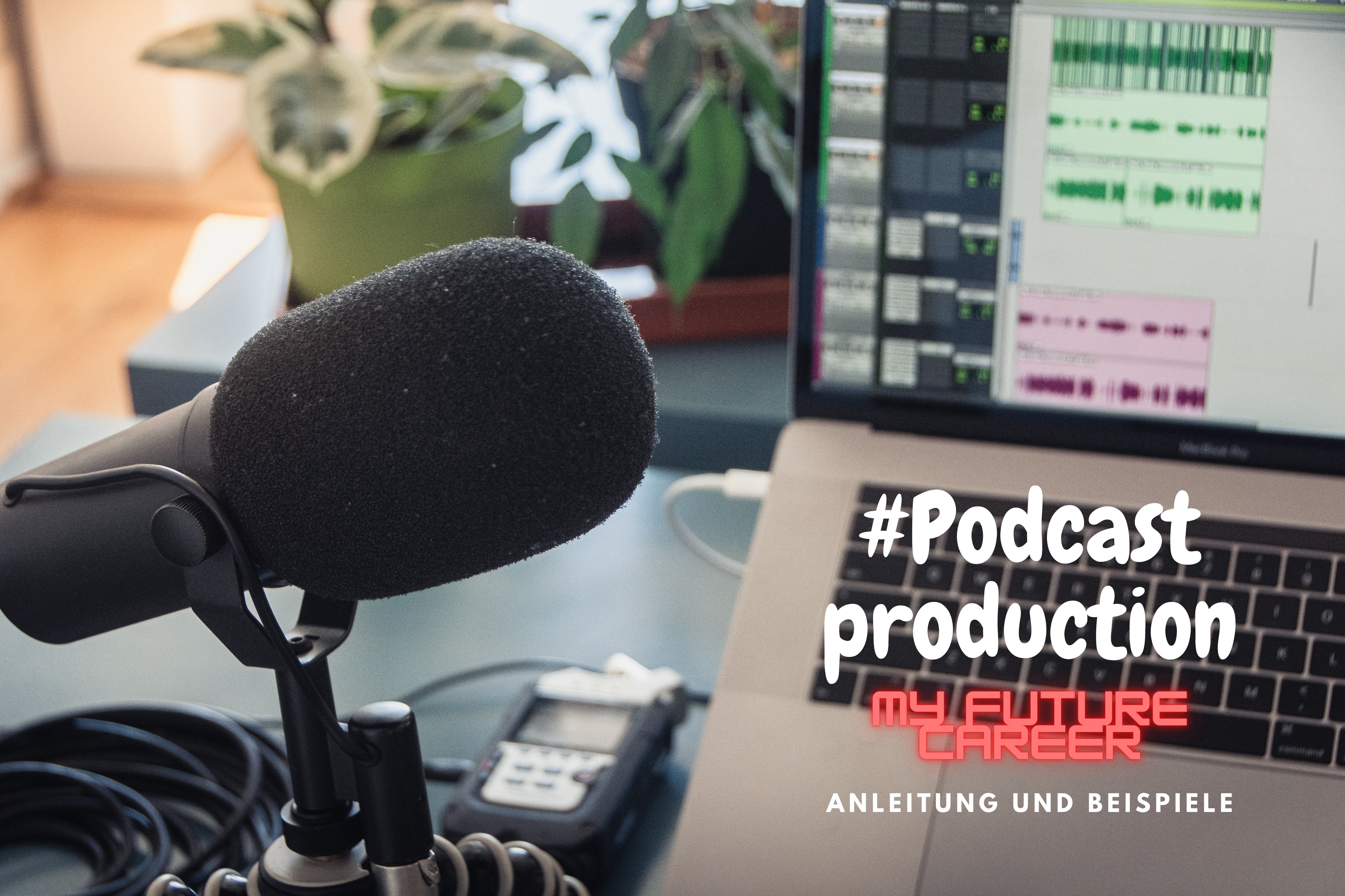 You are currently viewing My future career – podcast production