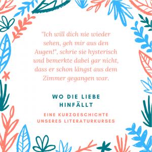 Read more about the article Wo die Liebe hinfällt – Eine Kurzgeschichte